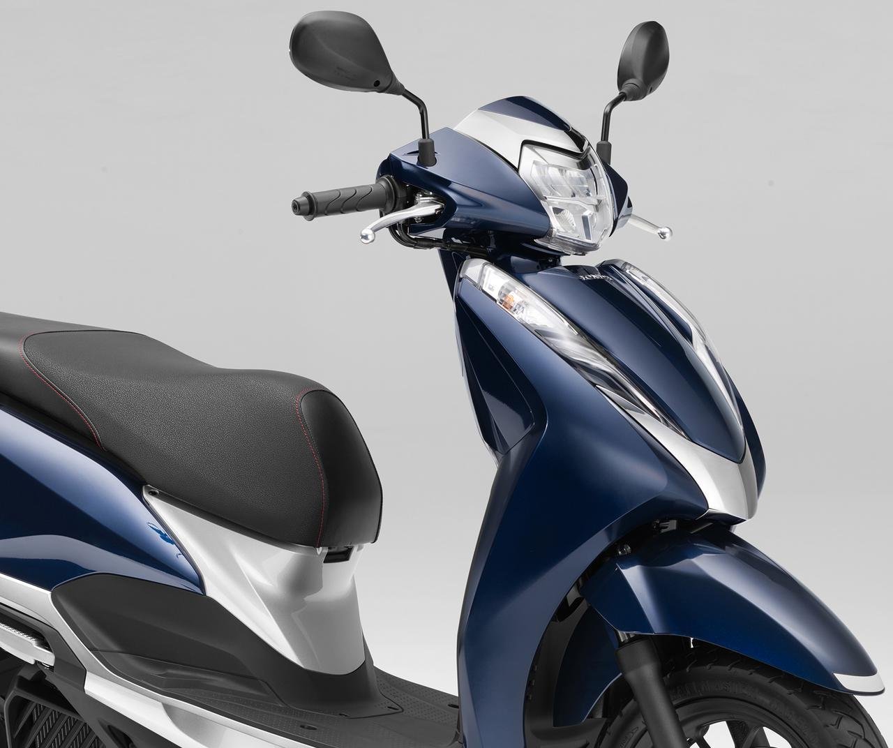 画像: いまイチオシの原付二種125cc通勤スクーター【ホンダ編】スリムで軽快、収納力も抜群な「リード125」 - webオートバイ