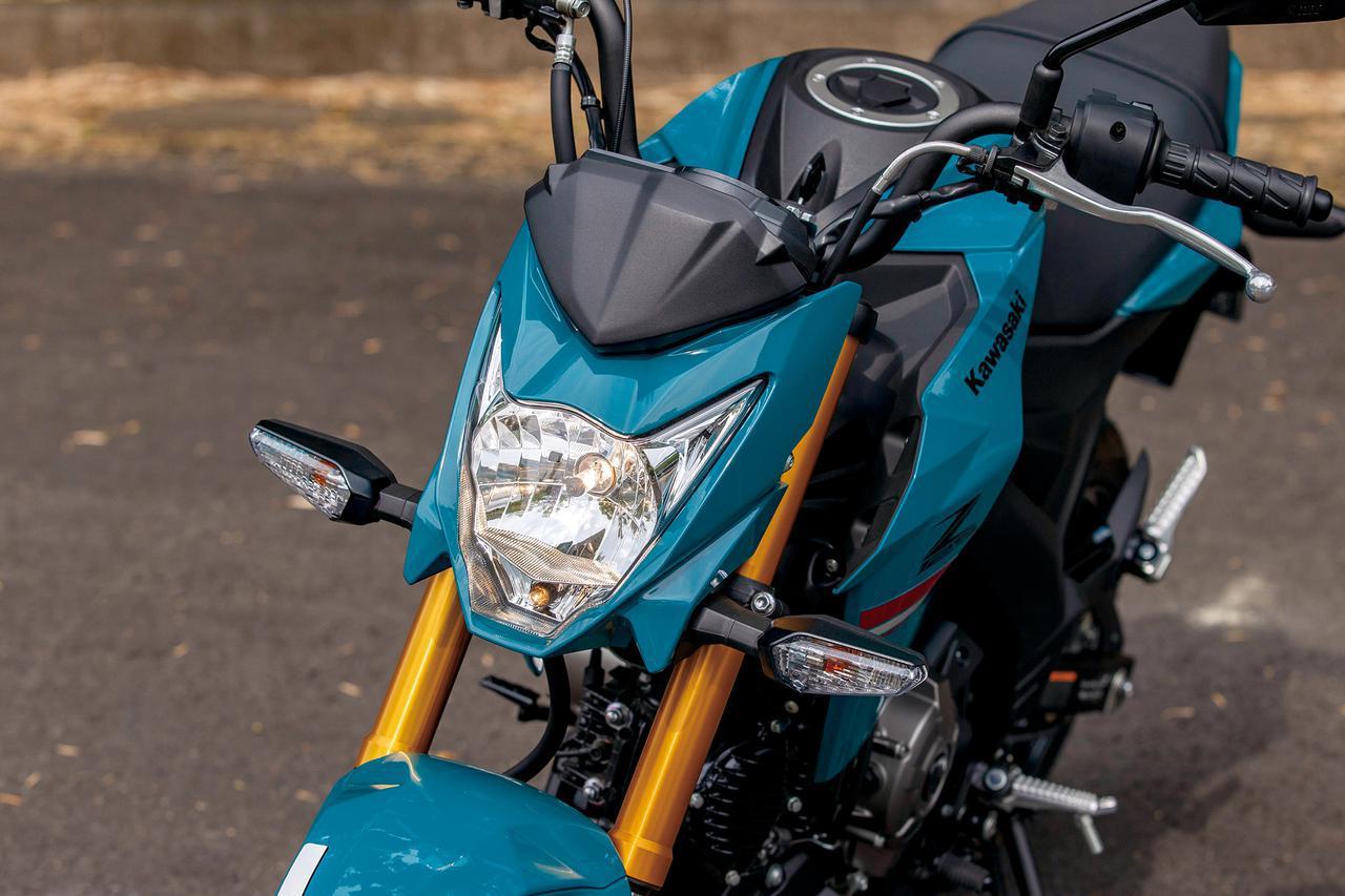 画像: ハロゲンバルブを装着するヘッドライトはシャープなデザインで個性が際立つZシリーズの顔つき。