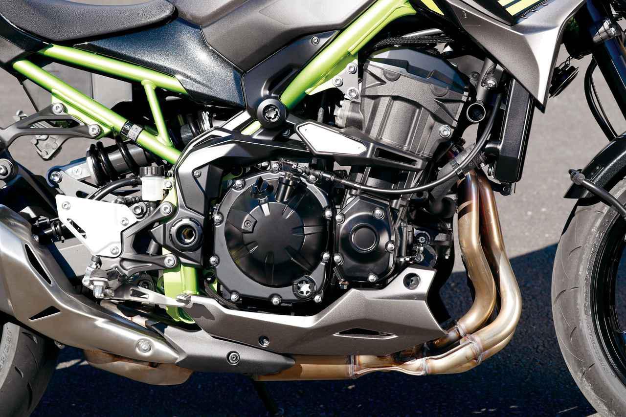 画像3: MT-09・Z900・GSX-S750|エンジン・フレームチェック