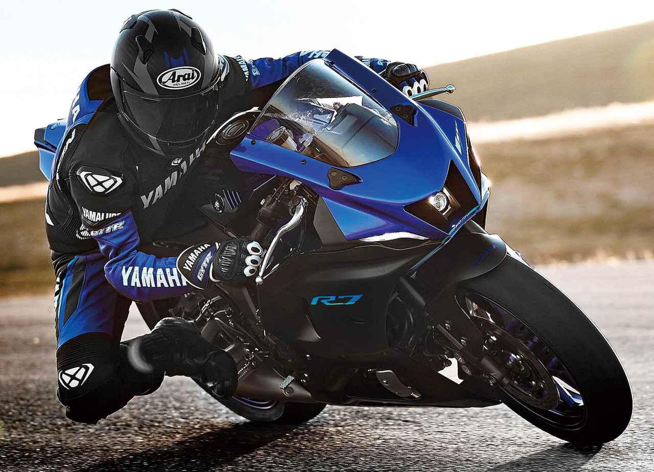 画像: ヤマハの新型車「YZF-R7」を徹底解説|爽快な走りと扱いやすさが光る等身大のスーパースポーツ - webオートバイ