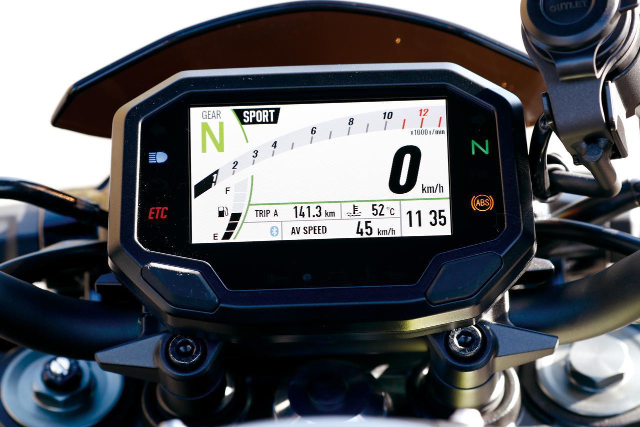 画像2: MT-09・Z900・GSX-S750|メーター・電子制御装備チェック