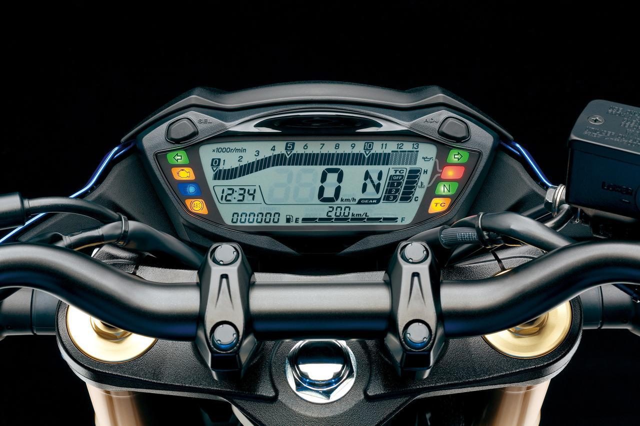 画像3: MT-09・Z900・GSX-S750|メーター・電子制御装備チェック