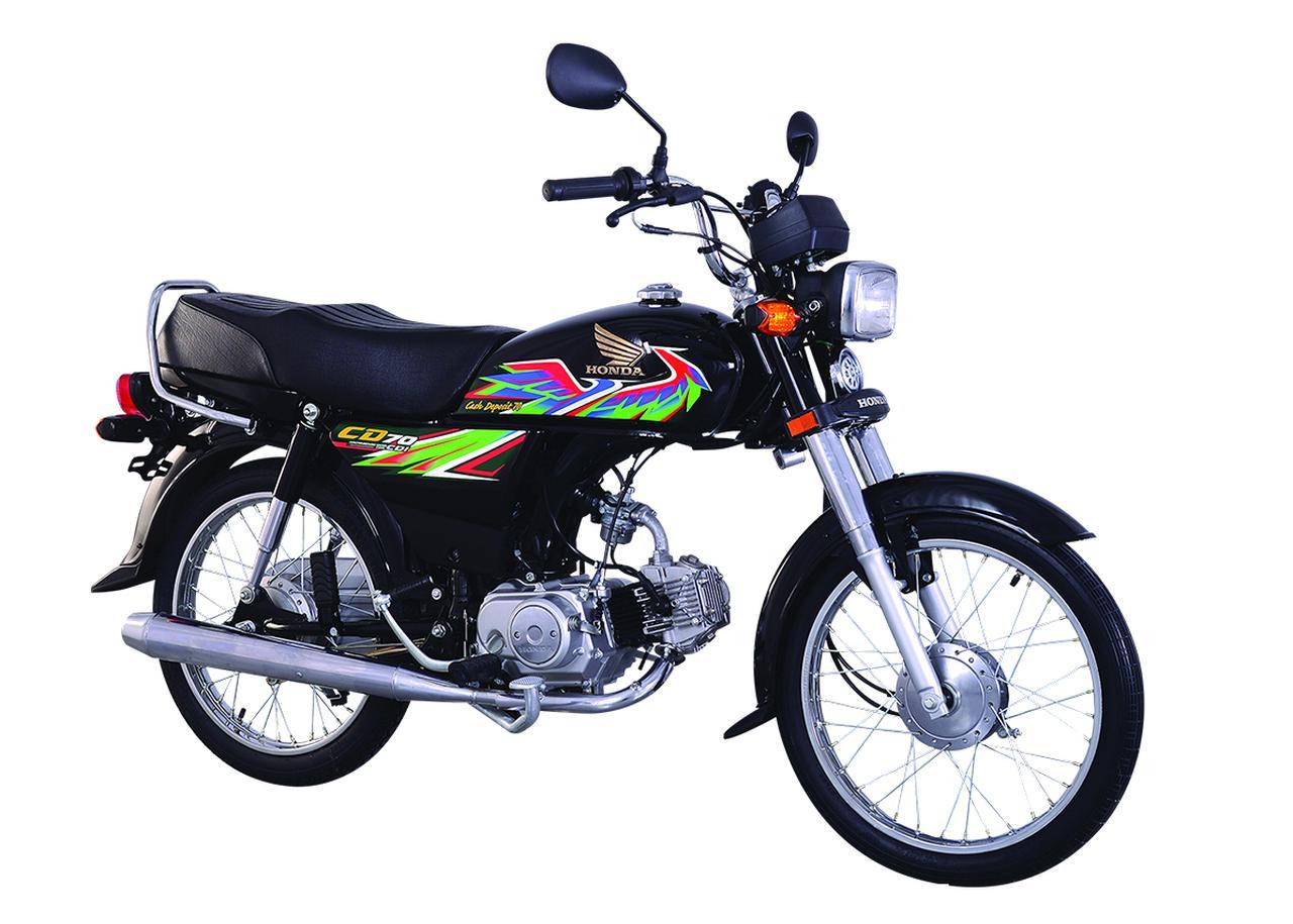 画像3: ビジネスバイクのホンダCDが、パキスタンでド派手なバイクになっていた!