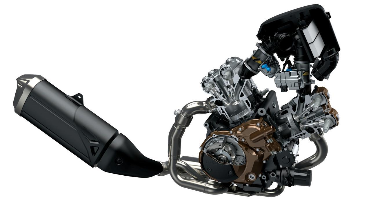 画像: 総排気量:1036cc 最高出力:106PS/8500rpm 最大トルク:10.1kgf-m/6000rpm
