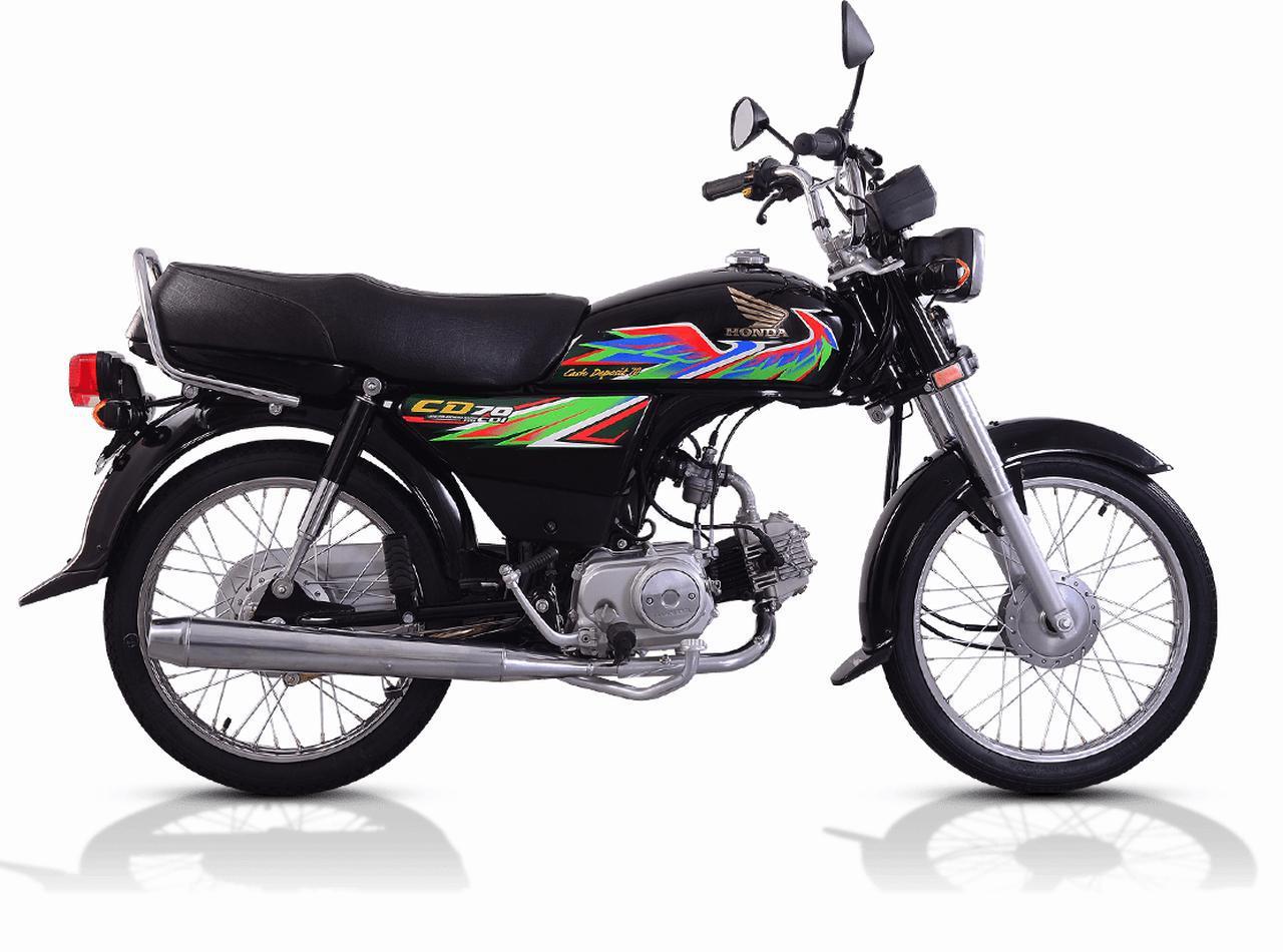 画像2: ビジネスバイクのホンダCDが、パキスタンでド派手なバイクになっていた!