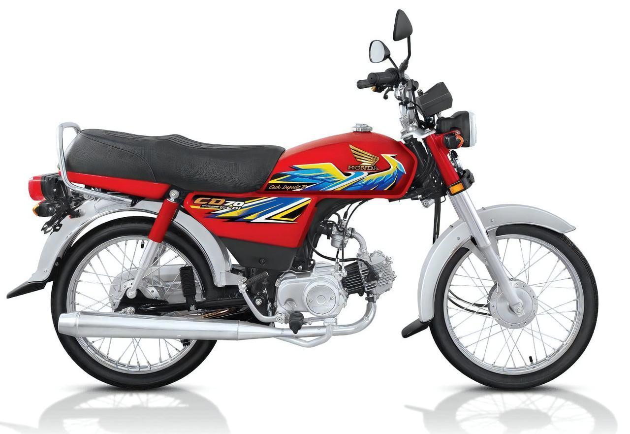 画像1: ビジネスバイクのホンダCDが、パキスタンでド派手なバイクになっていた!