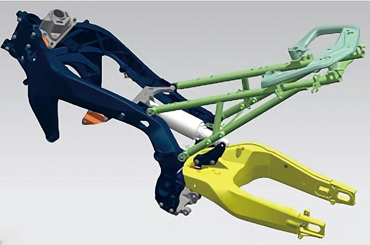 画像1: ヤマハ「トレーサー9 GT」・BMW「F900XR」・スズキ「Vストローム1050XT」|エンジン・フレームチェック