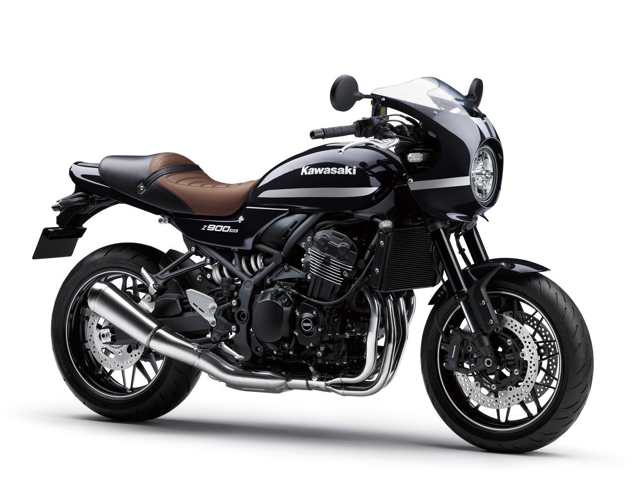 画像: Kawasaki Z900RS CAFE 2022年モデル 総排気量:948cc エンジン形式:水冷4ストDOHC4バルブ並列4気筒 シート高:820mm 車両重量:217kg