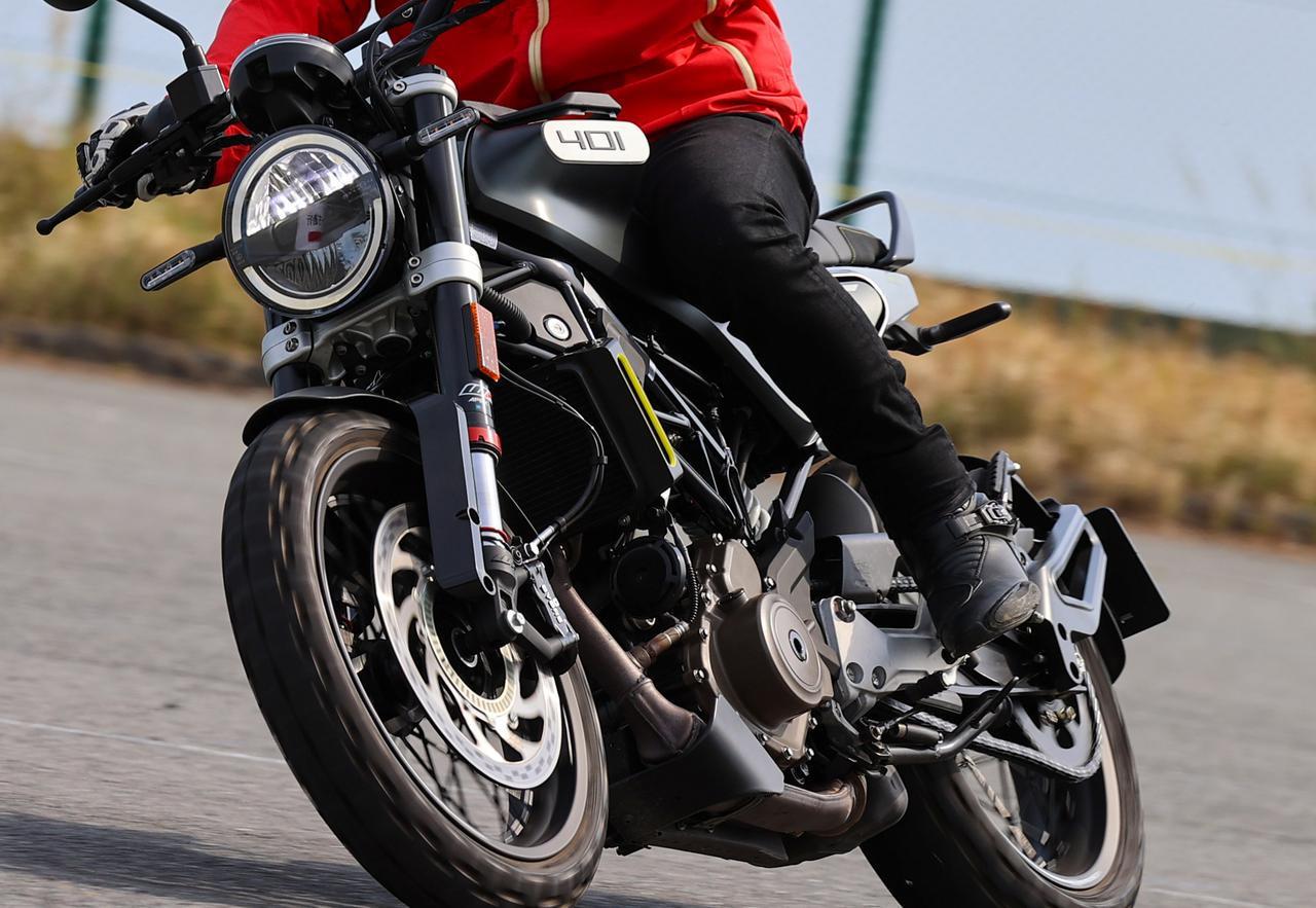 画像: 【インプレ】ハスクバーナモーターサイクルズ「スヴァルトピレン401」(2021年) - webオートバイ
