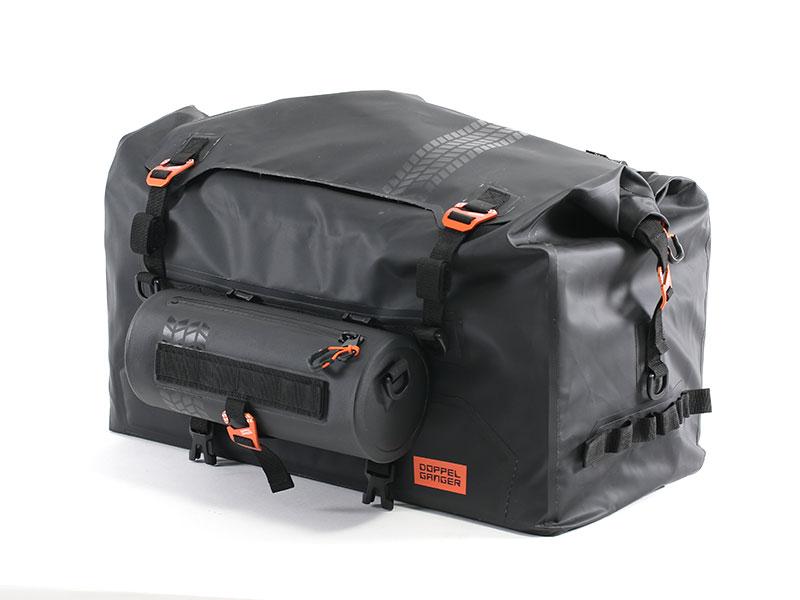 画像: 接続例:キャンプツーリングシートバッグ DBT523-BK