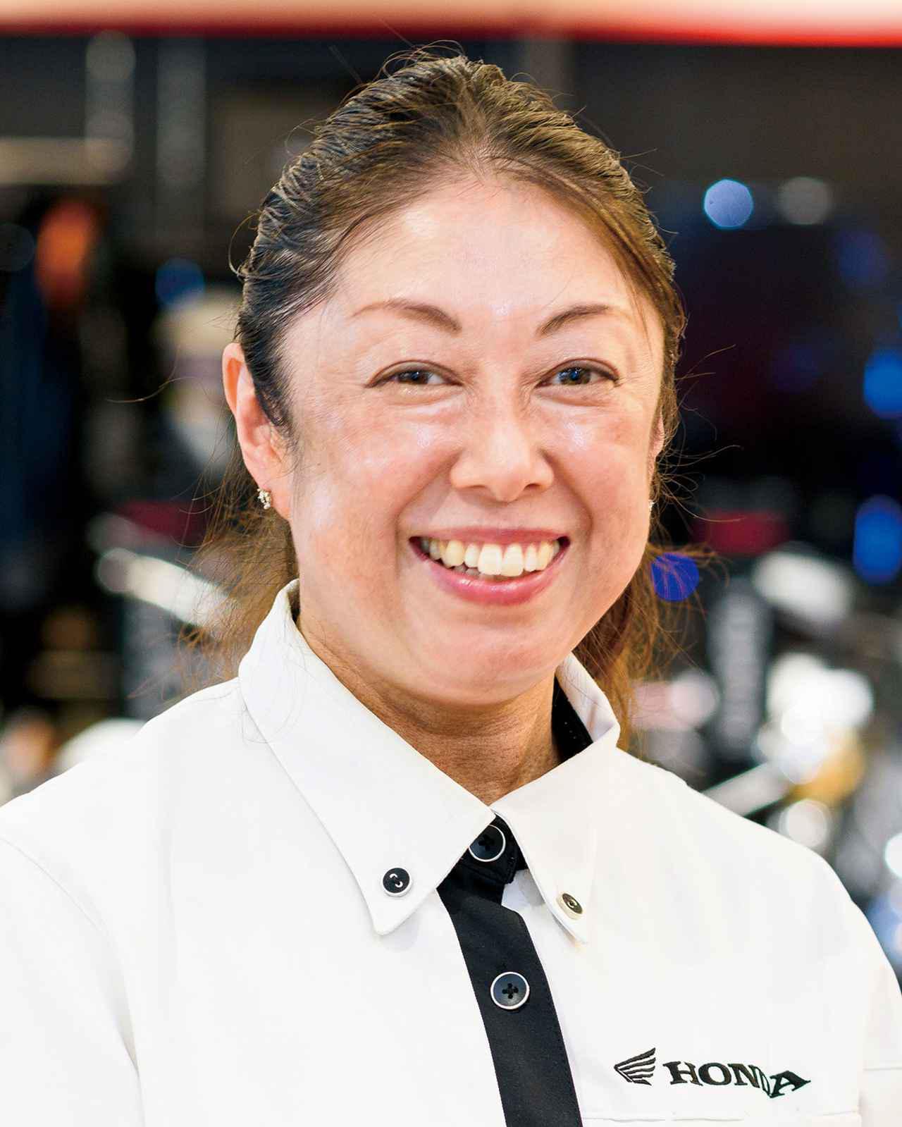 画像: 営業 永山優子さん