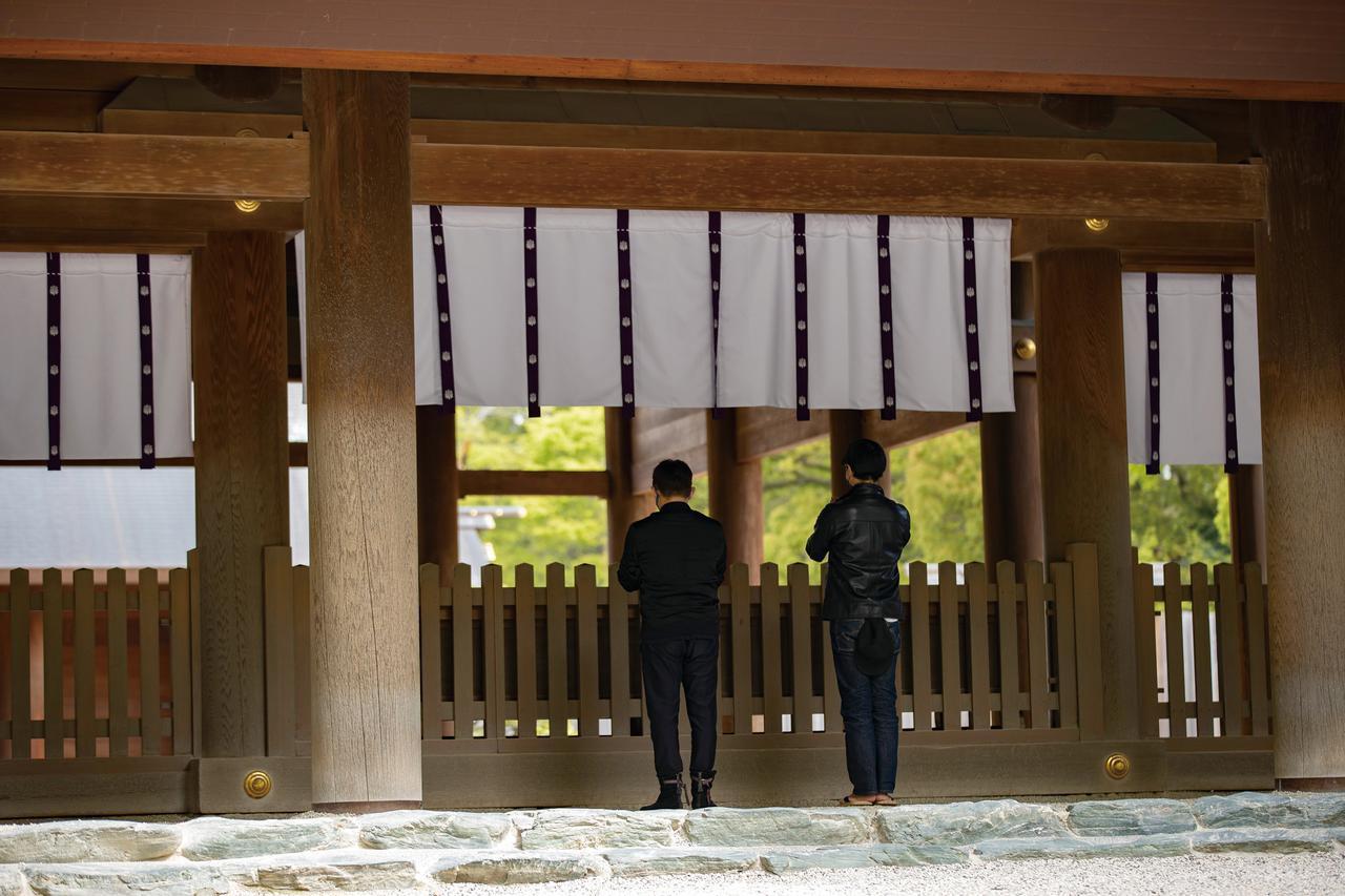 画像1: 井戸田潤さんと熱田神宮を参拝!