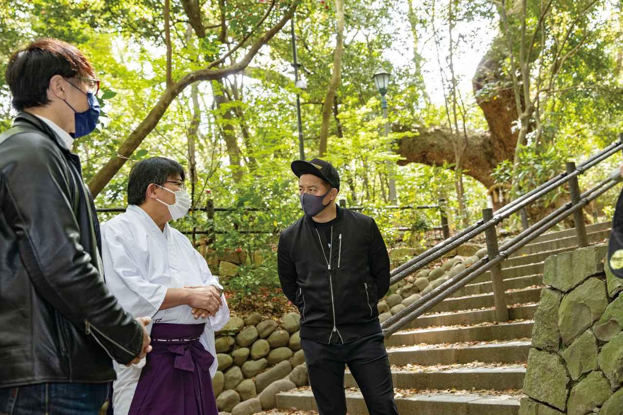 画像4: 井戸田潤さんと熱田神宮を参拝!