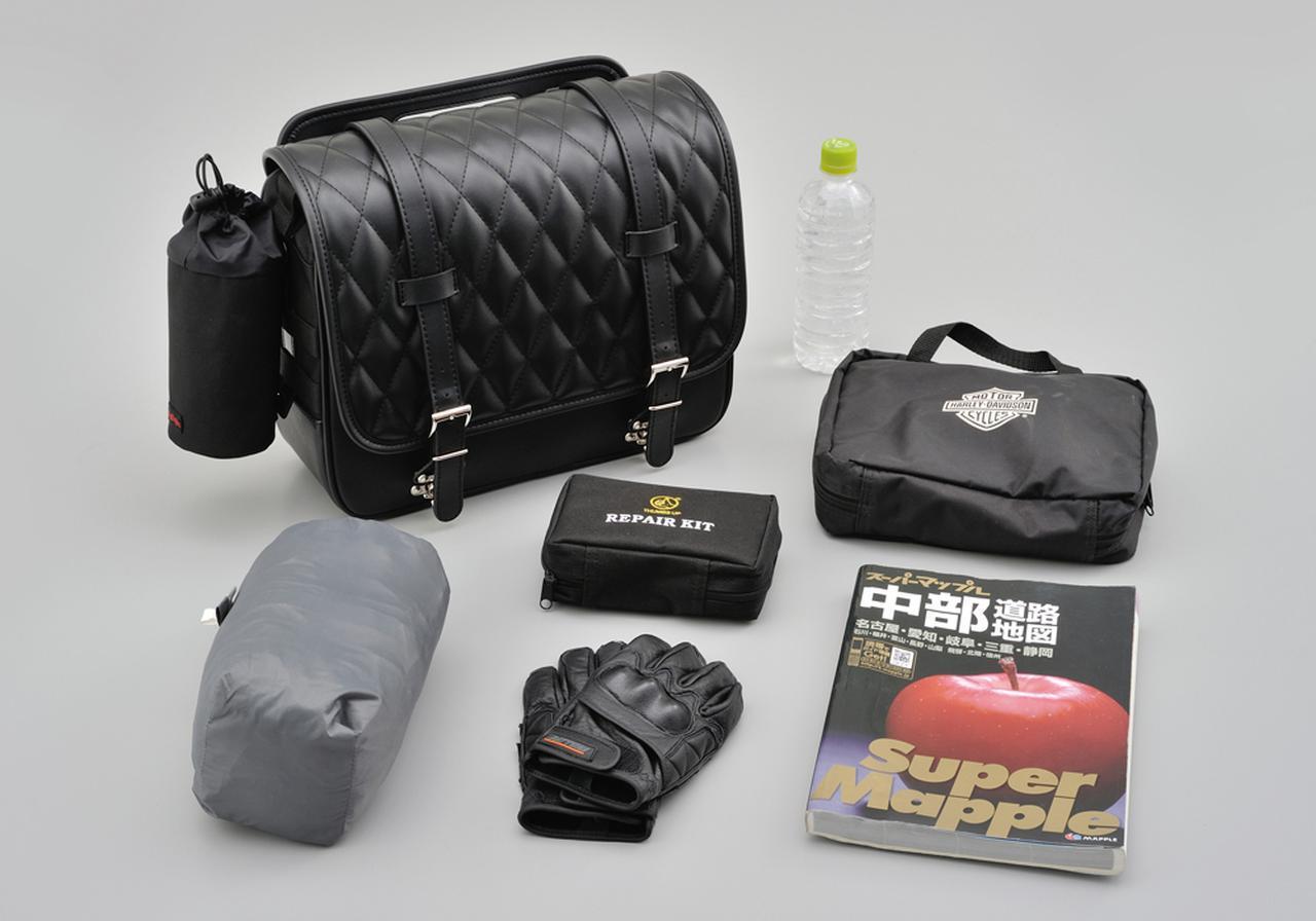 画像1: トラディショナル系やクルーザーモデルにぴったりのおしゃれなサドルバッグ|デイトナが新製品を発売