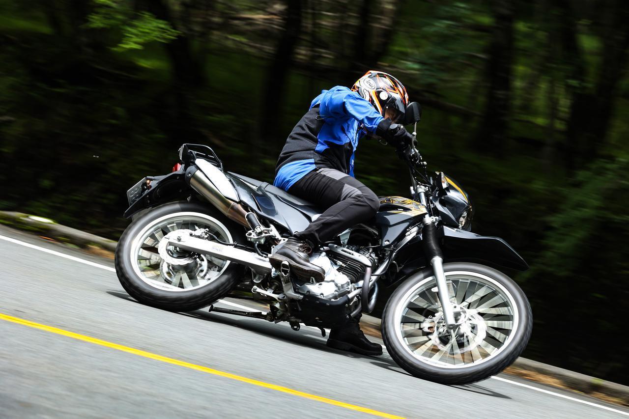 画像2: ガチなオフロード向けかトレッキングバイクか