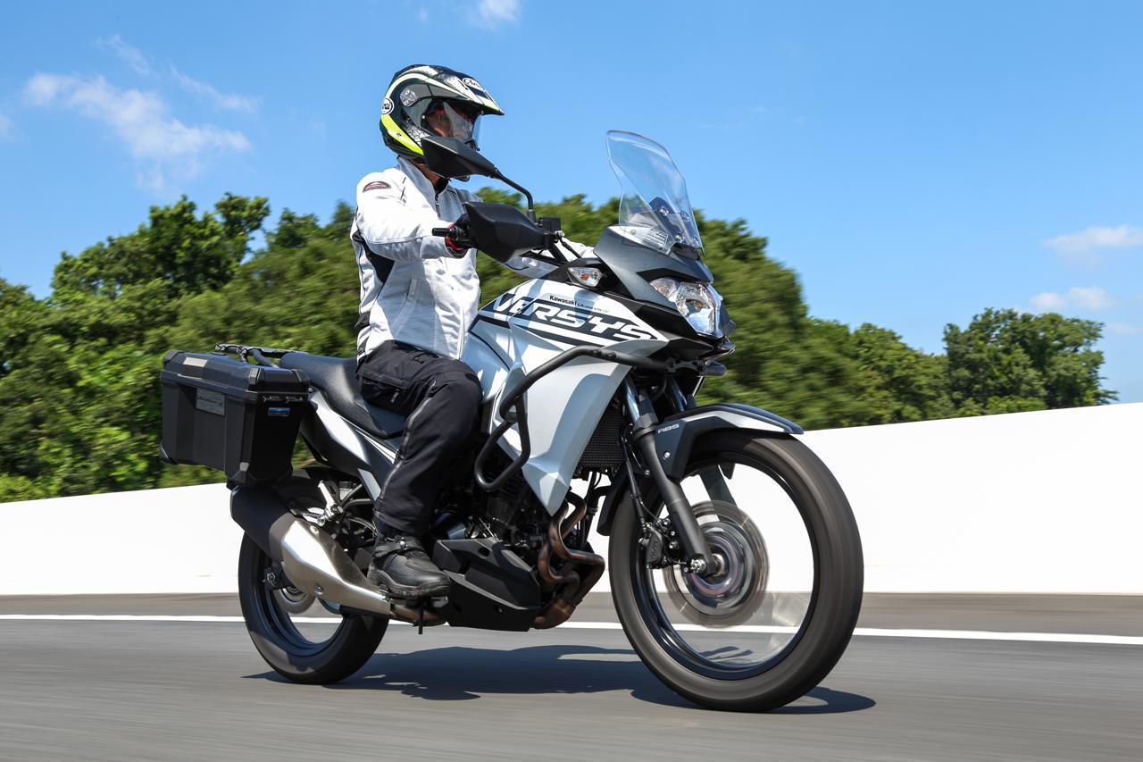 画像: 【インプレ】カワサキ「ヴェルシスX250ツアラー」(2021年) - webオートバイ