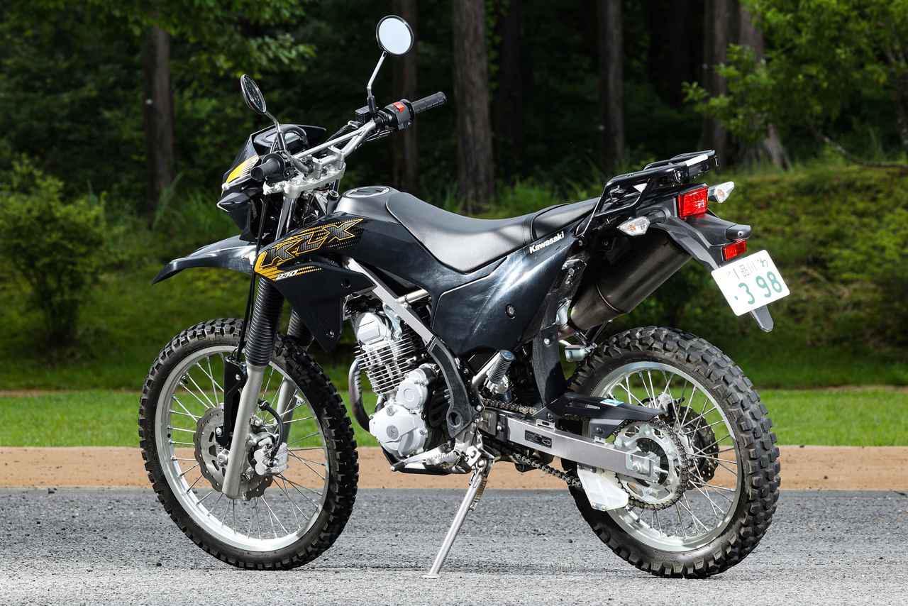 画像1: ガチなオフロード向けかトレッキングバイクか