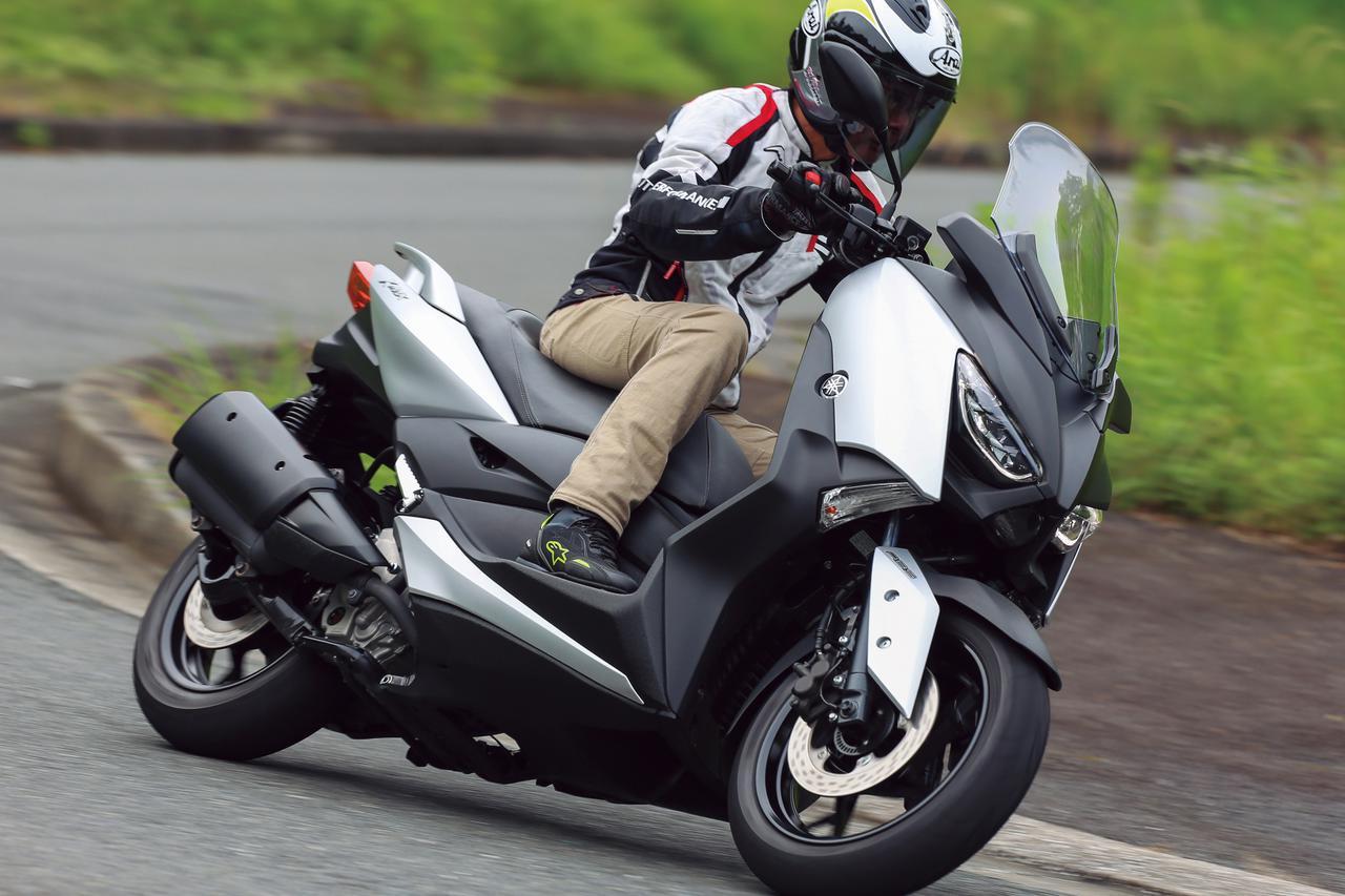 画像: ヤマハ「XMAX」【試乗インプレ・車両解説】(2020年)コミューターとしてもツーリングバイクとして優れる新世代ビッグスクーター - webオートバイ