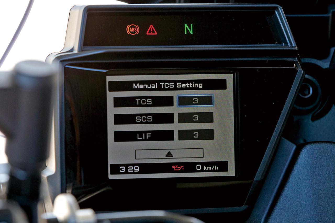 画像: IMUを装備して、トラクションコントロール、ウイリーコントロール、スライドコントロール、ブレーキコントロールなどを搭載。
