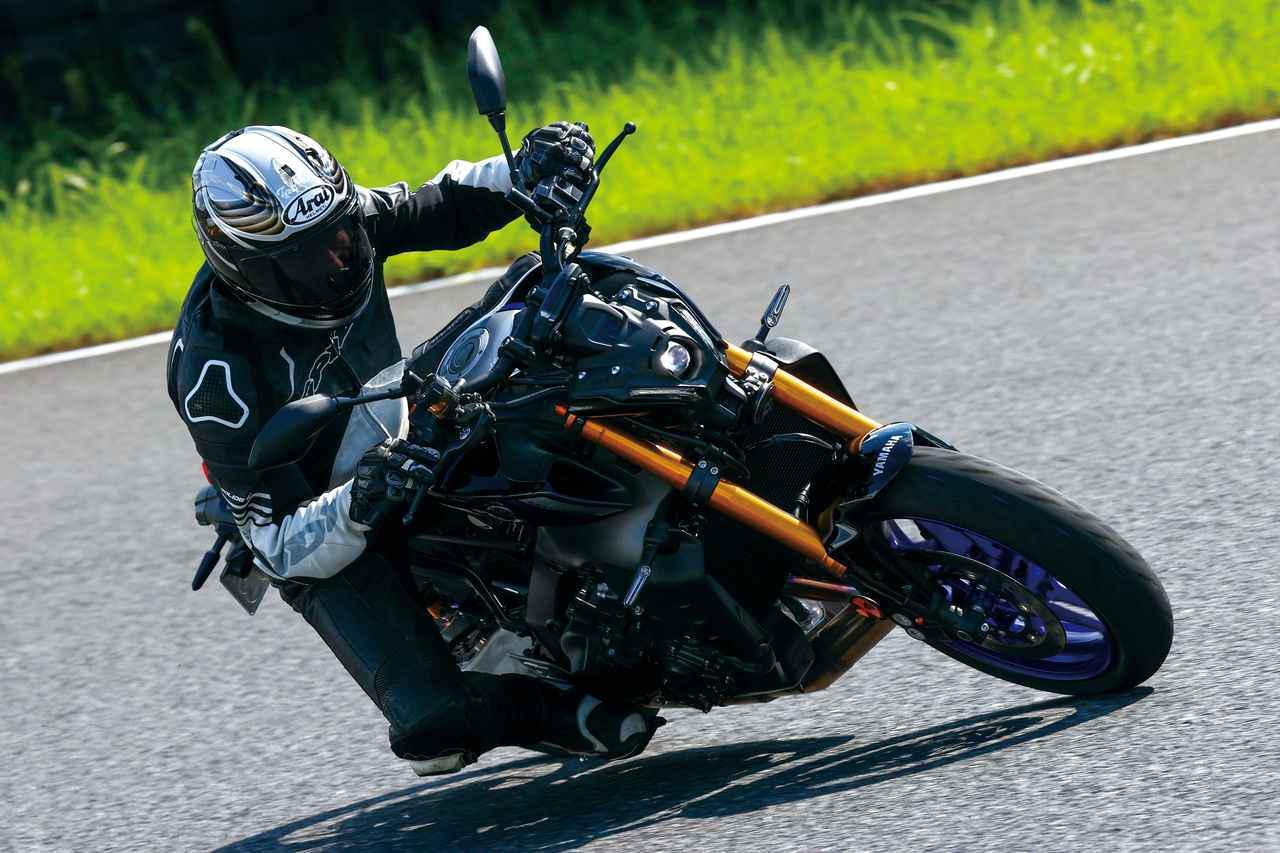 画像: ヤマハ新型「MT-09」「MT-09 SP」インプレ(2021年) - webオートバイ