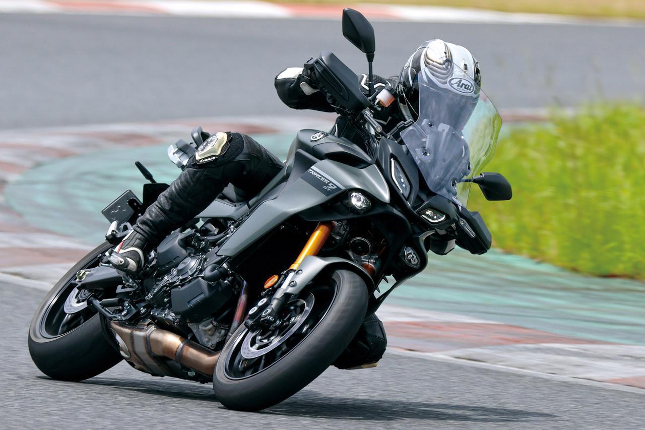 画像: ヤマハ「トレーサー9 GT」サーキットインプレ - webオートバイ