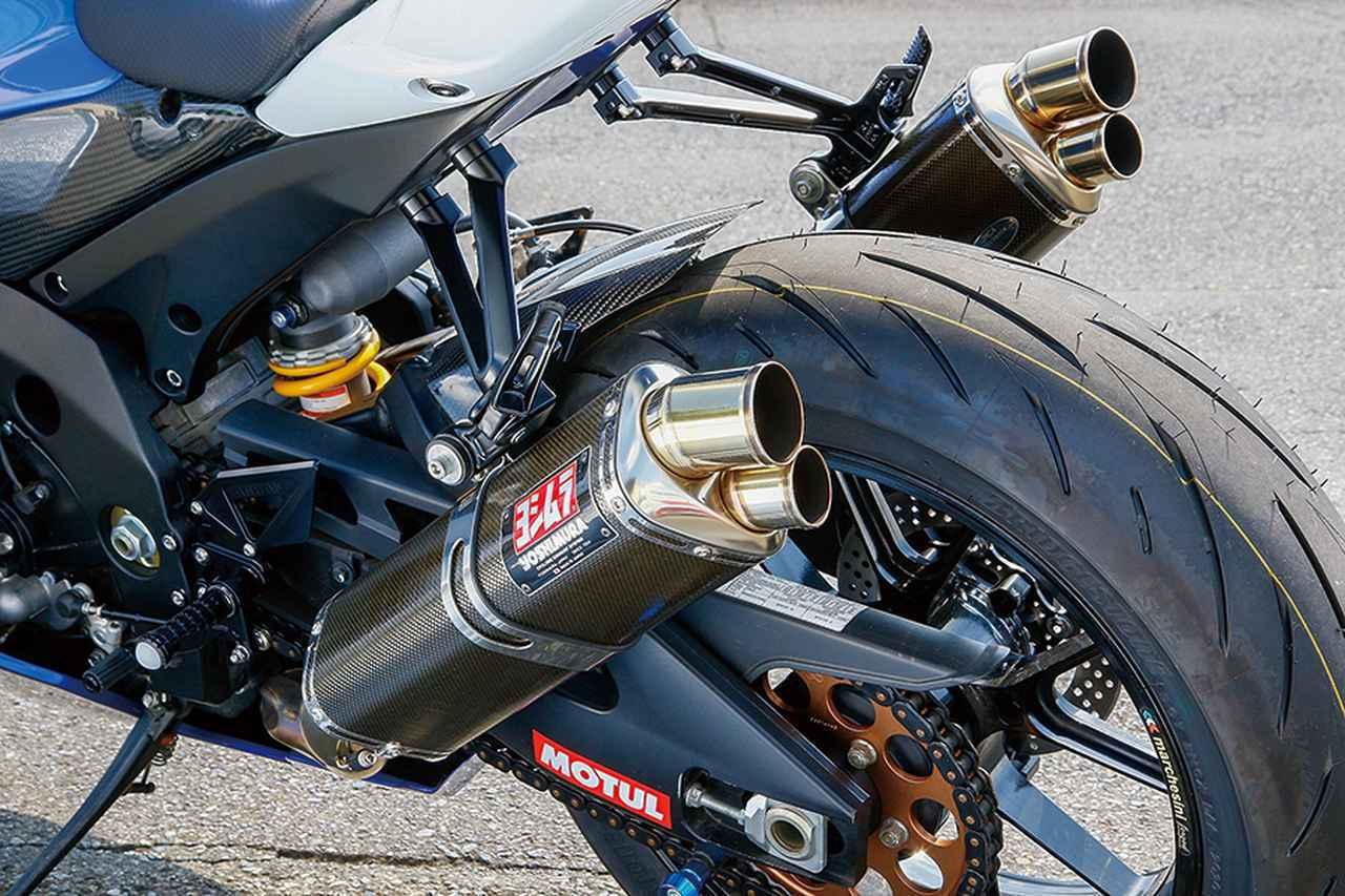 画像1: ブライトロジックGSX-R1000(スズキGSX-R1000)外装とブレーキの追変更を軸に、走りやすさをアップ【Heritage&Legends】