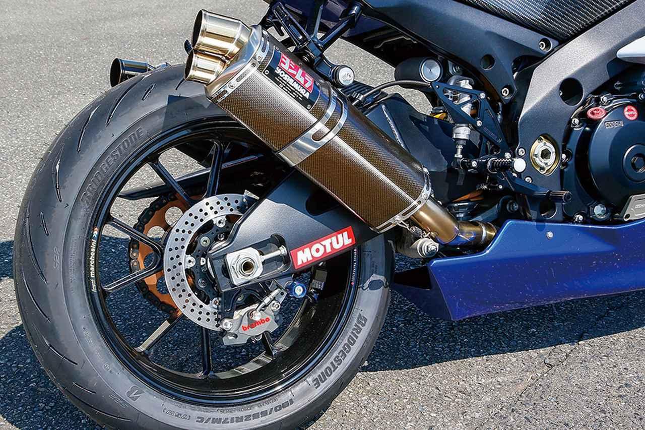 画像2: ブライトロジックGSX-R1000(スズキGSX-R1000)外装とブレーキの追変更を軸に、走りやすさをアップ【Heritage&Legends】