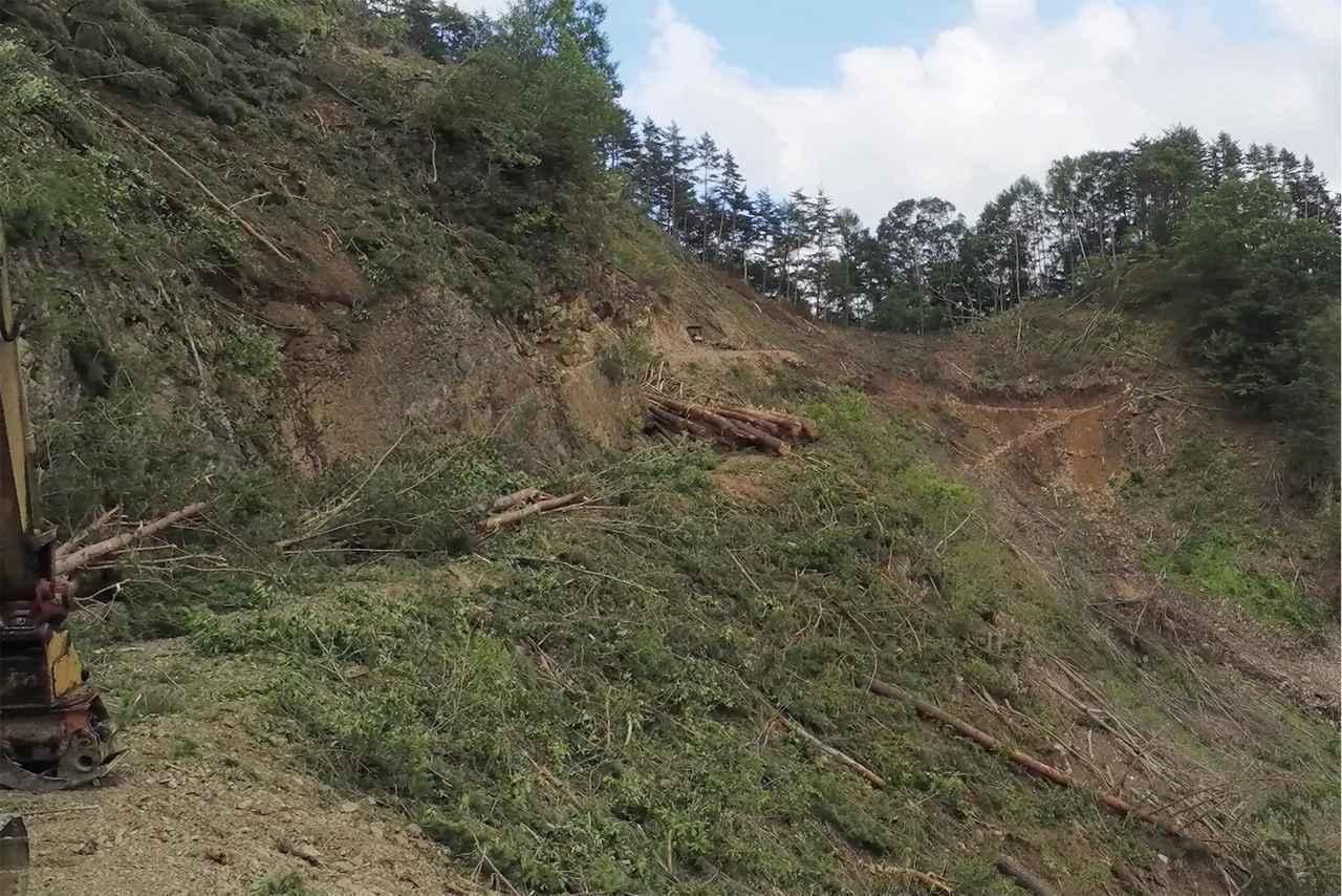 画像2: 管理する自治体によって林道の路面状況は大きく変わる