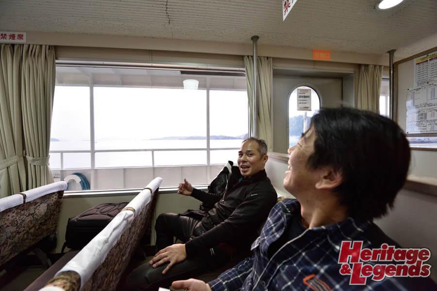 カスタムバイクツーリング! GPZ900Rで瀬戸内海の島々を巡る20