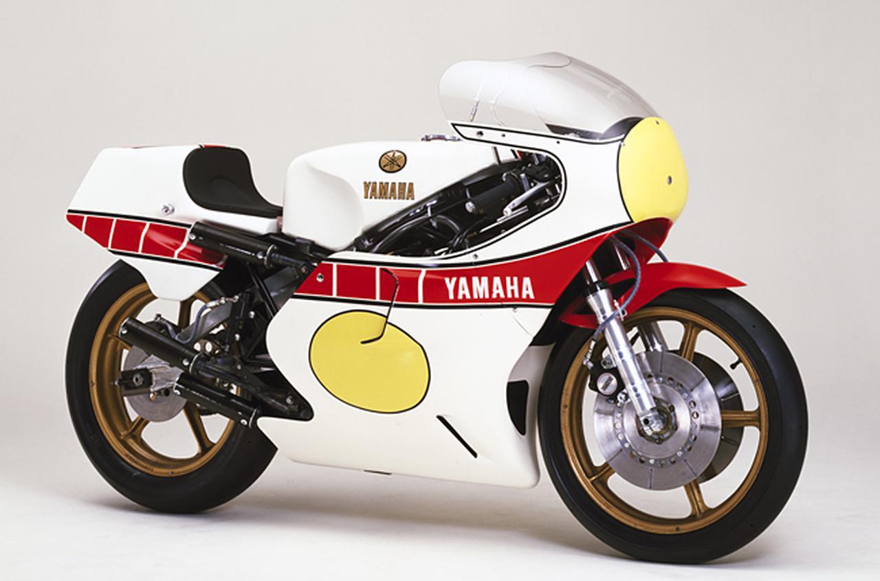 画像: ▲TZ500のベースとなった1979年式YZR500(0W45)
