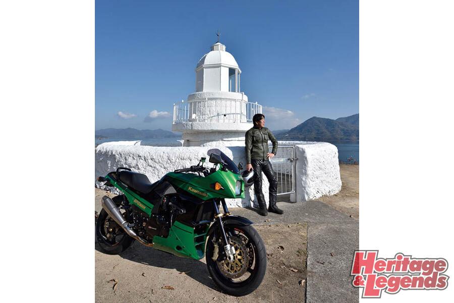 カスタムバイクツーリング! GPZ900Rで瀬戸内海の島々を巡る19