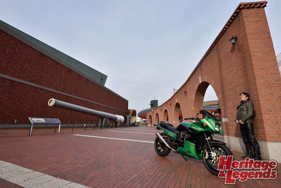 カスタムバイクツーリング! GPZ900Rで瀬戸内海の島々を巡る12
