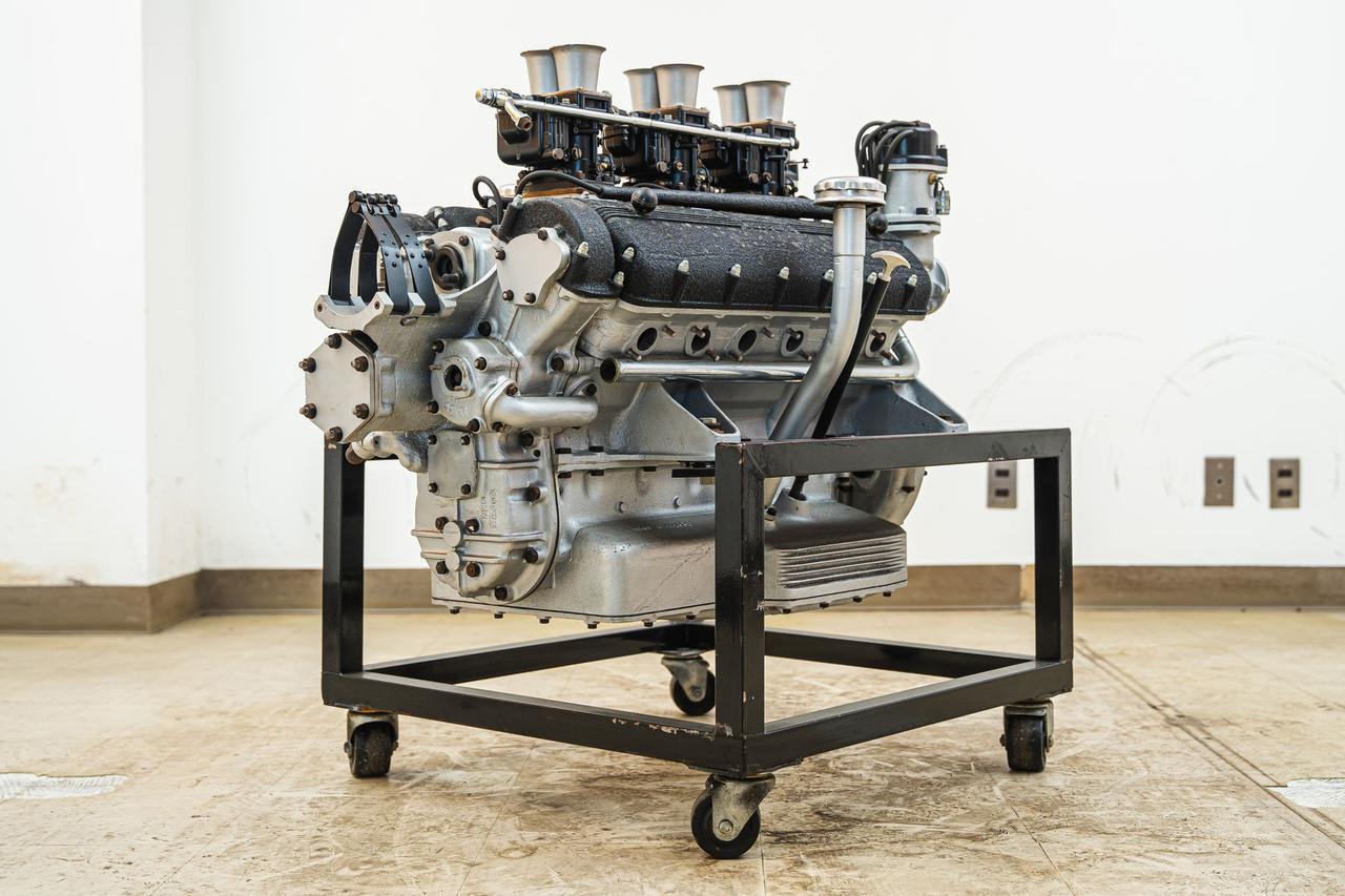 画像: ▲フェラーリ 250用 Tipo 0124D型エンジン