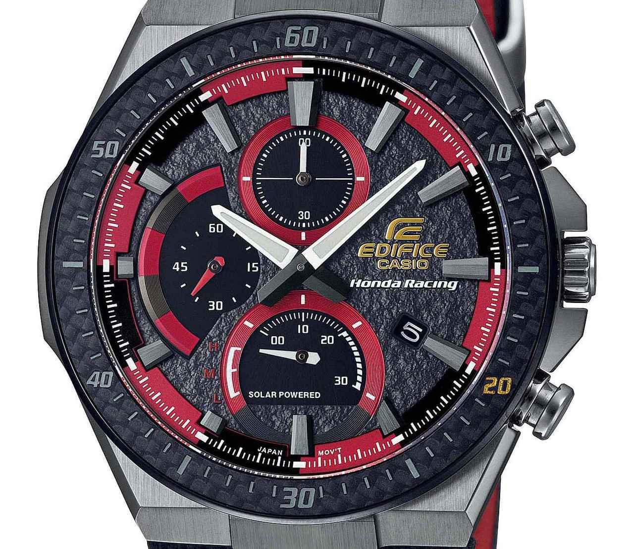 画像: エディフィスとホンダ・レーシングの最新コラボ腕時計が発売中! - webオートバイ