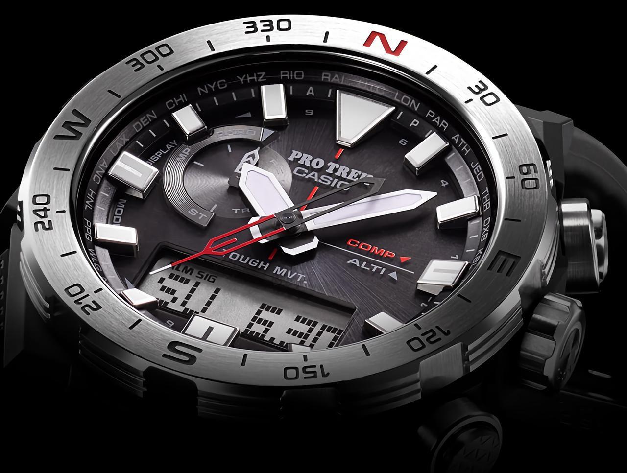 画像: 方位計測機能に特化したプロトレックの腕時計が新登場! - webオートバイ