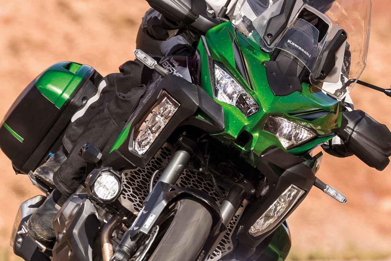 画像: カワサキが新型「ヴェルシス1000SE」を発売! 2021年型は電子制御サスペンションをアップデート - webオートバイ
