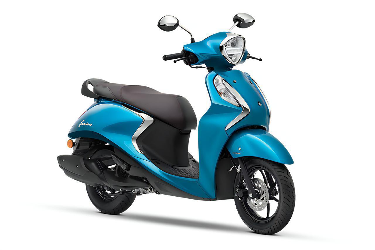 画像: YAMAHA Fascino125Fi HYBRID 総排気量:125cc エンジン形式:空冷4ストOHC2バルブ単気筒 シート高:780mm 車両重量:99kg