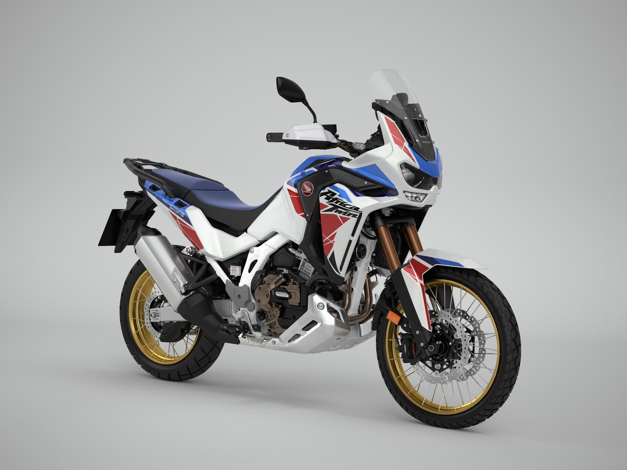 画像: Honda CRF1100L AFRICA TWIN ADVENTURE SPORTS 海外仕様・2022年モデル 総排気量:1084cc エンジン形式:水冷4ストOHC4バルブ並列2気筒 シート高:850/870mm 車両重量:238kg(DCT仕様・248kg)