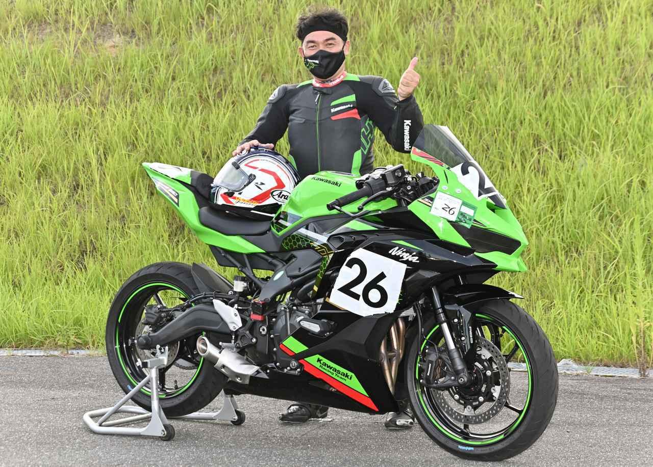 画像3: カワサキ Ninja ZX-25Rで楽しみながらレースデビュー!「Ninja Team Green Cup」突撃レポート