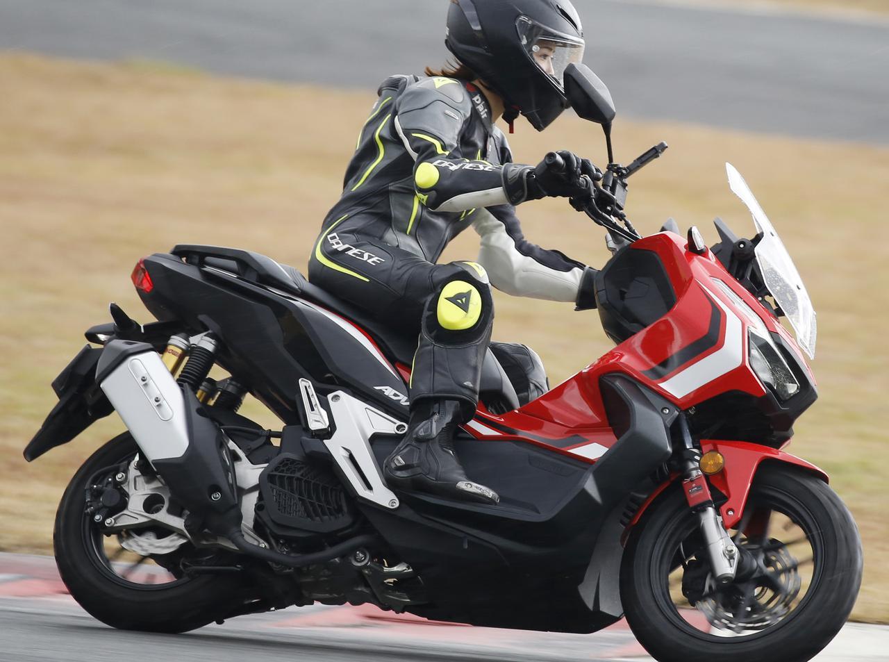 画像: 【最高速】ホンダ「ADV150」のトップスピードを計測! 平嶋夏海の挑戦 - webオートバイ