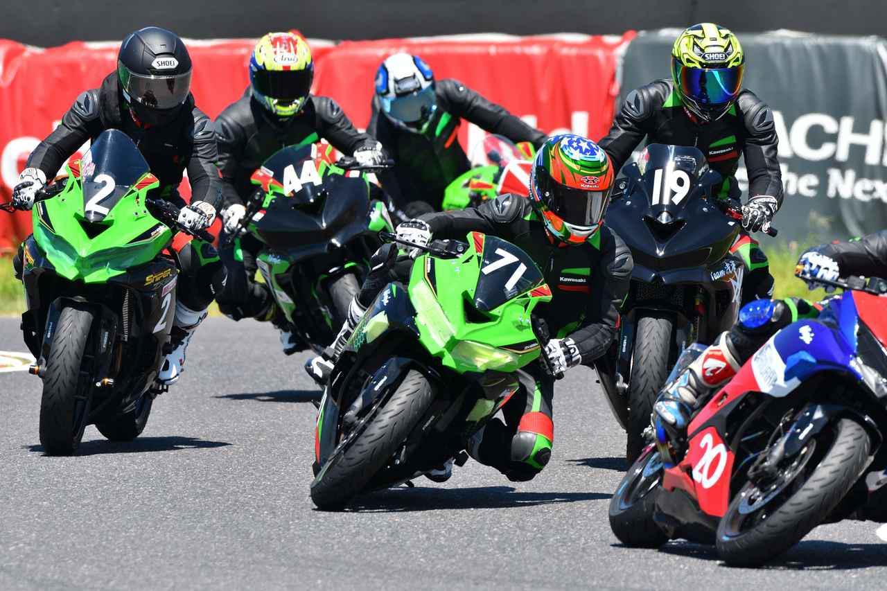 画像1: 超人気250スポーツのワンメイクレースに参戦!