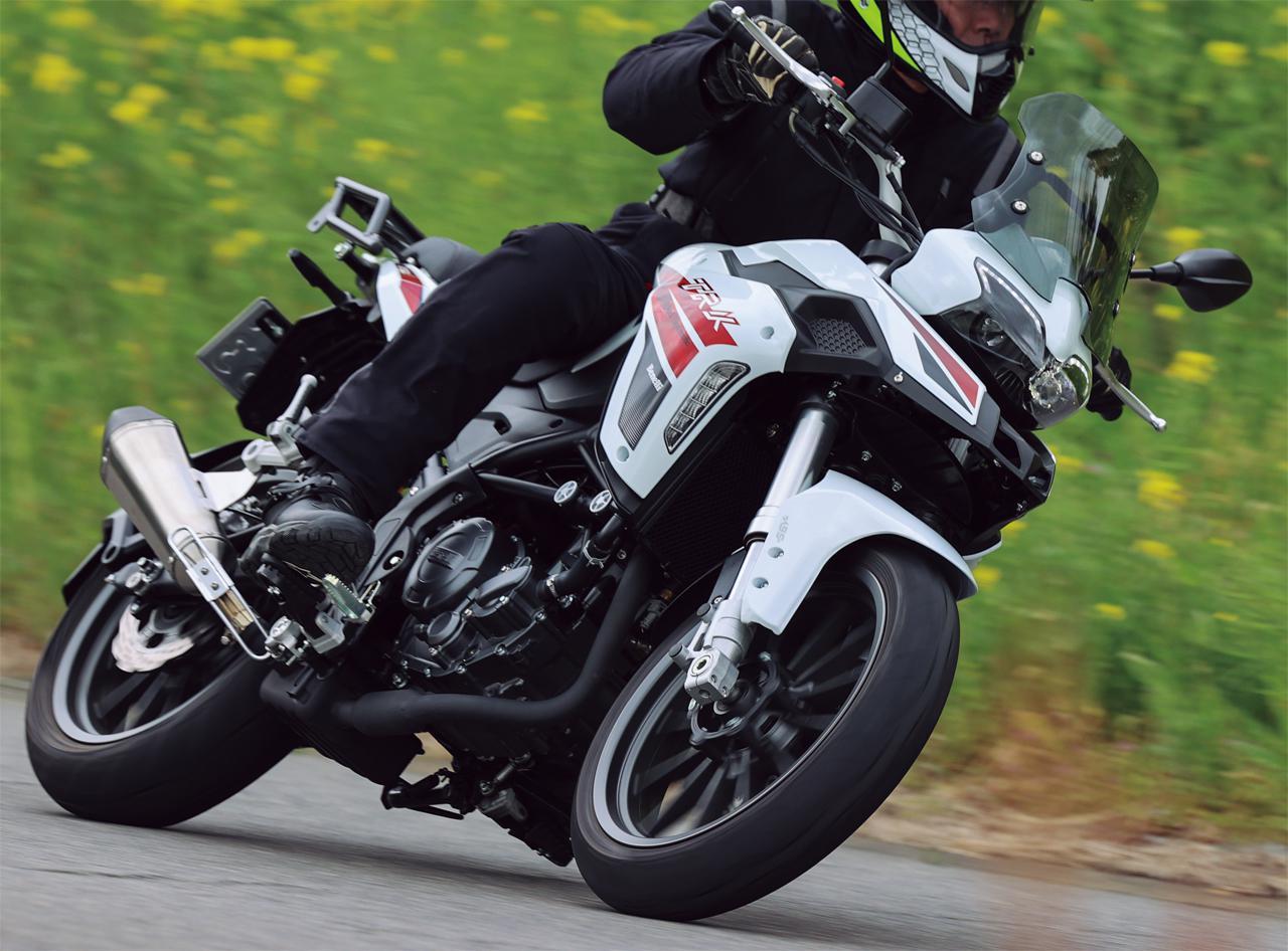 画像: 【インプレ】ベネリ「TRK251」(2021年) - webオートバイ