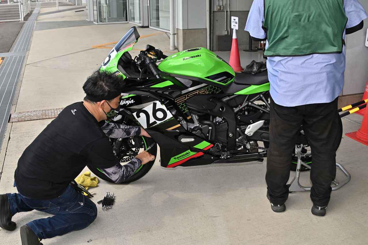 画像2: 超人気250スポーツのワンメイクレースに参戦!