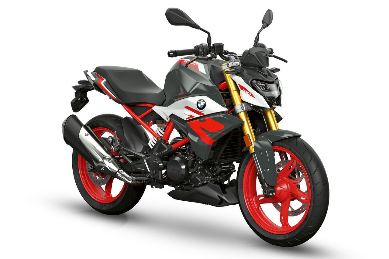 画像: BMW G 310 R 総排気量:312cc エンジン形式:水冷4ストDOHC4バルブ単気筒 シート高:785mm 車両重量:164kg 税込価格:63万7000円