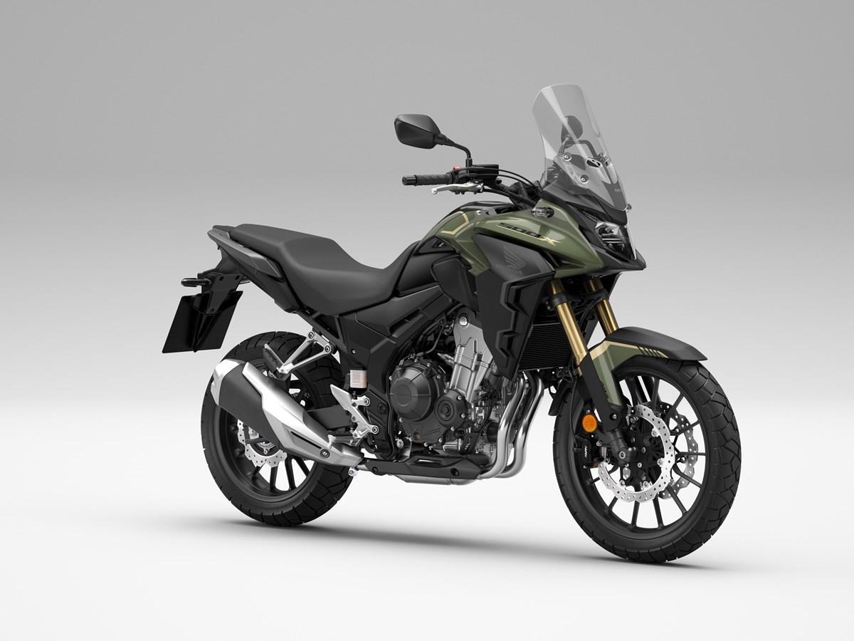 画像: Honda CB500X 海外仕様・2022年モデル 総排気量:471cc エンジン形式:水冷4ストDOHC4バルブ並列2気筒 シート高:830mm 車両重量:199kg