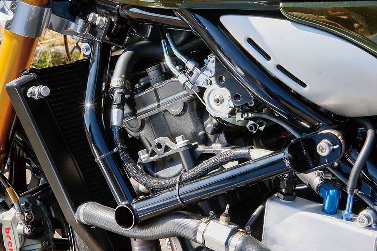 画像2: ウイリーZ1000CAFE(カワサキZ900RSカフェ)サーキットも楽しめるネイキッドをZX-10Rエンジンで提案【Heritage&Legends】