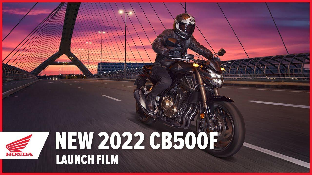 画像: 【公式動画】New 2022 CB500F Launch Film www.youtube.com
