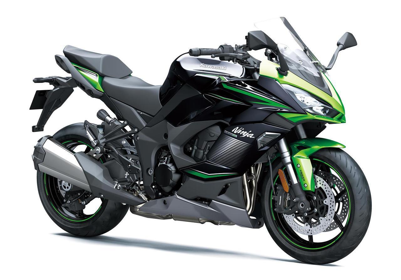 画像: Kawasaki Ninja 1000SX 海外仕様・2022年モデル 総排気量:1043cc エンジン形式:水冷4ストDOHC4バルブ並列4気筒 シート高:835mm 車両重量:235kg