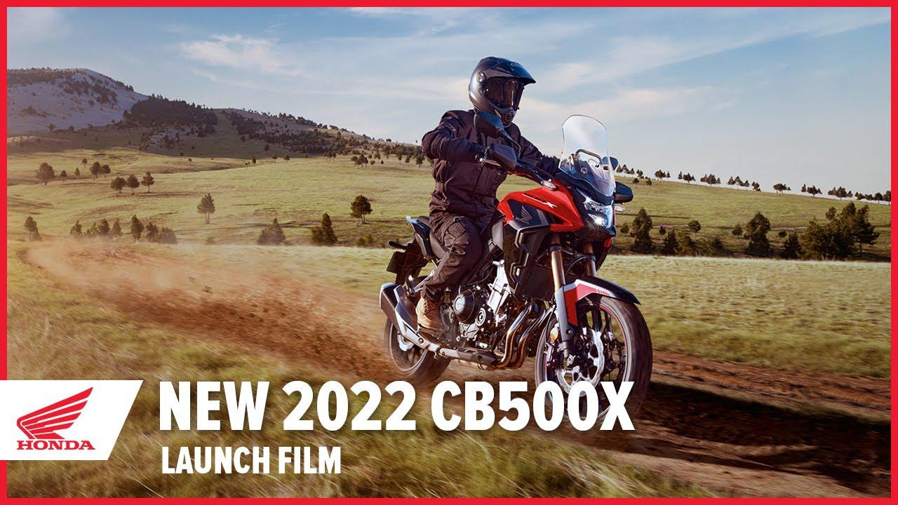 画像: 【公式動画】New 2022 CB500X Launch Film www.youtube.com