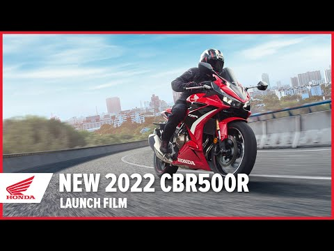 画像: 【公式動画】New 2022 CBR500R Launch Film www.youtube.com